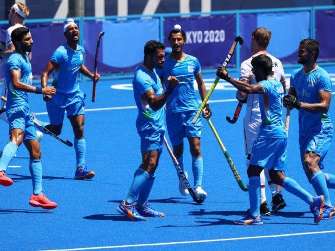 India wins bronze in men's hockey, beat Germany 5-4_40.1