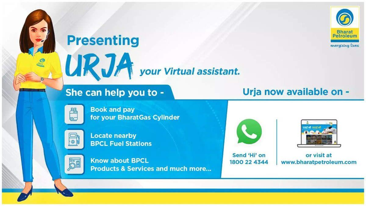 BPCL launches AI-enabled chatbot 'URJA'_40.1