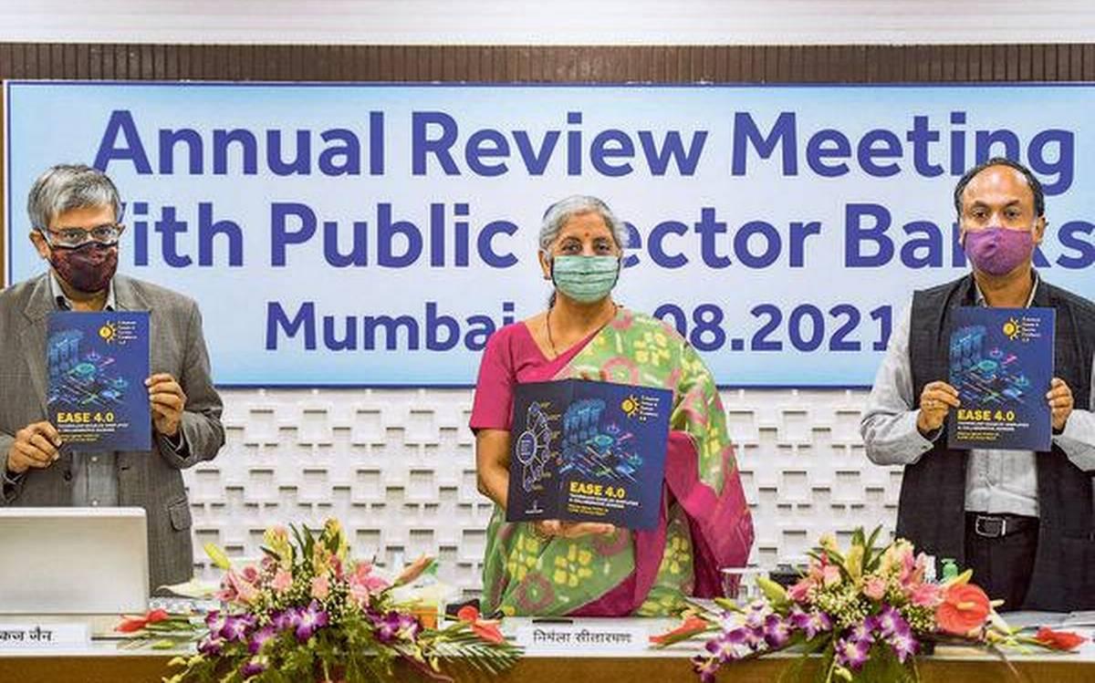 Nirmala Sitharaman unveils Public Sector Bank Reforms Agenda (EASE 4.0)_40.1