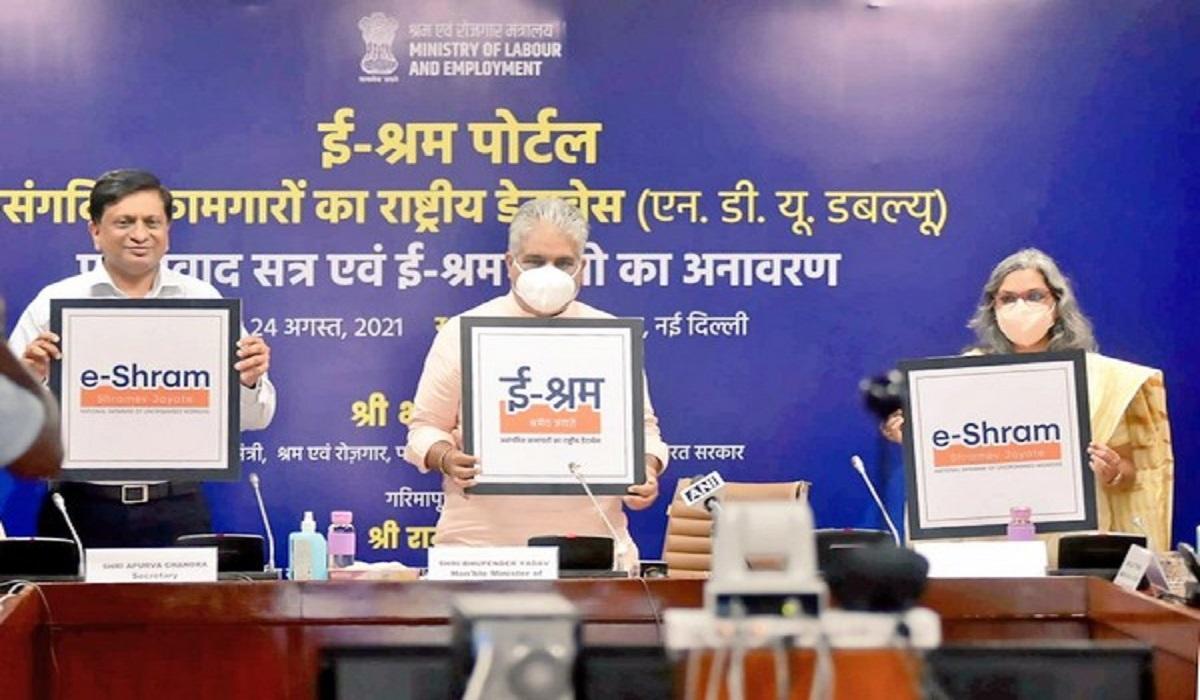 Ministry of Labour & Employment launches e-Shram Portal_40.1