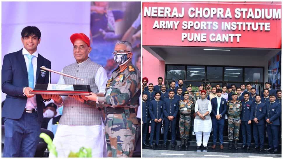 "Rajnath Singh names Army Sports Institute, Pune as ""Neeraj Chopra Stadium""_40.1"