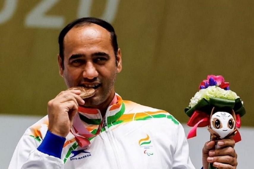 Paralympics 2020: Singhraj Adhana wins bronze medal in 10m Air Pistol_40.1