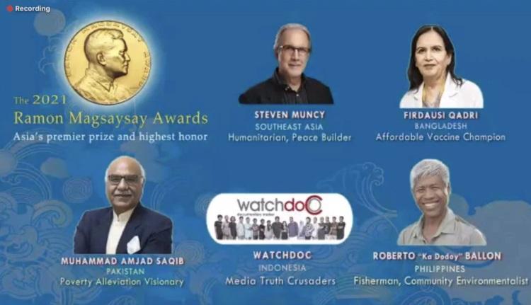 Ramon Magsaysay Award 2021 names announced_40.1