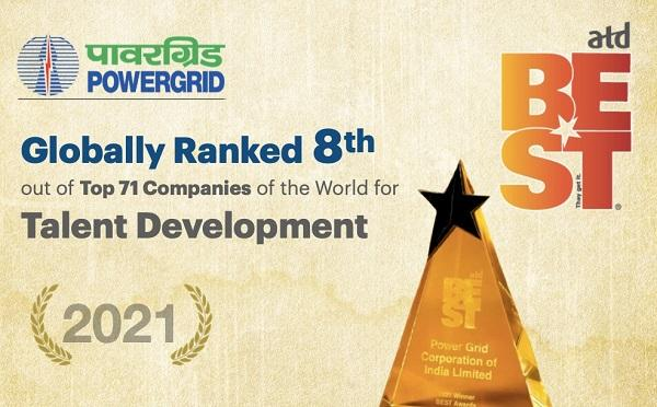 Powergrid Wins the Prestigious global ATD Best Award_40.1