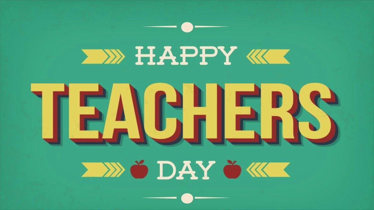 National Teachers' Day: 05 September_40.1