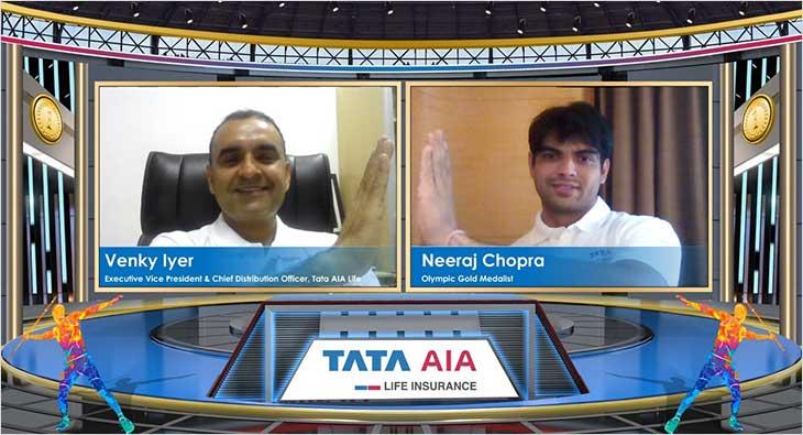 Tata AIA Life names Neeraj Chopra as brand ambassador_40.1