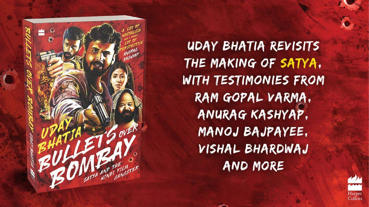 """A book """"Bullets Over Bombay: Satya and the Hindi Film Gangster"""" by Uday Bhatia_40.1"""