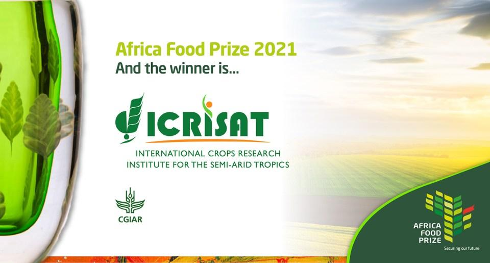 """ICRISAT awarded """"AFRICA FOOD PRIZE 2021""""_40.1"""