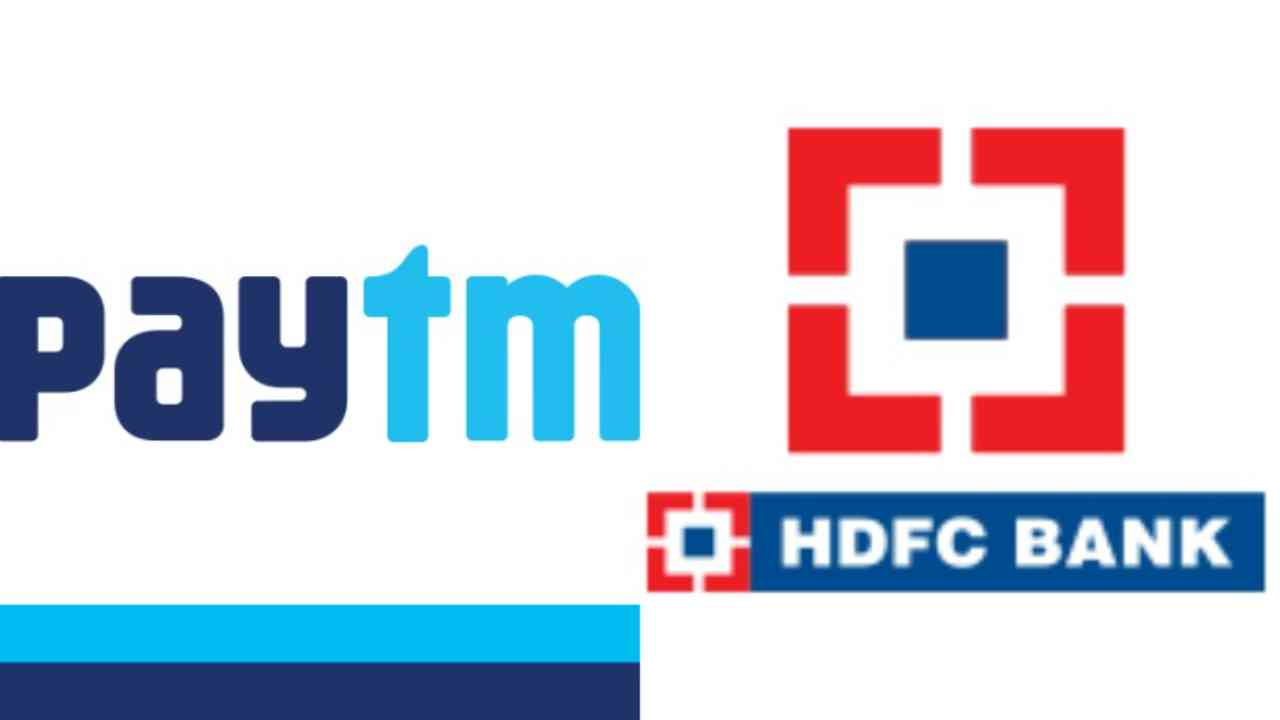 HDFC Bank ties up with Paytm to launch co-branded credit cards_40.1