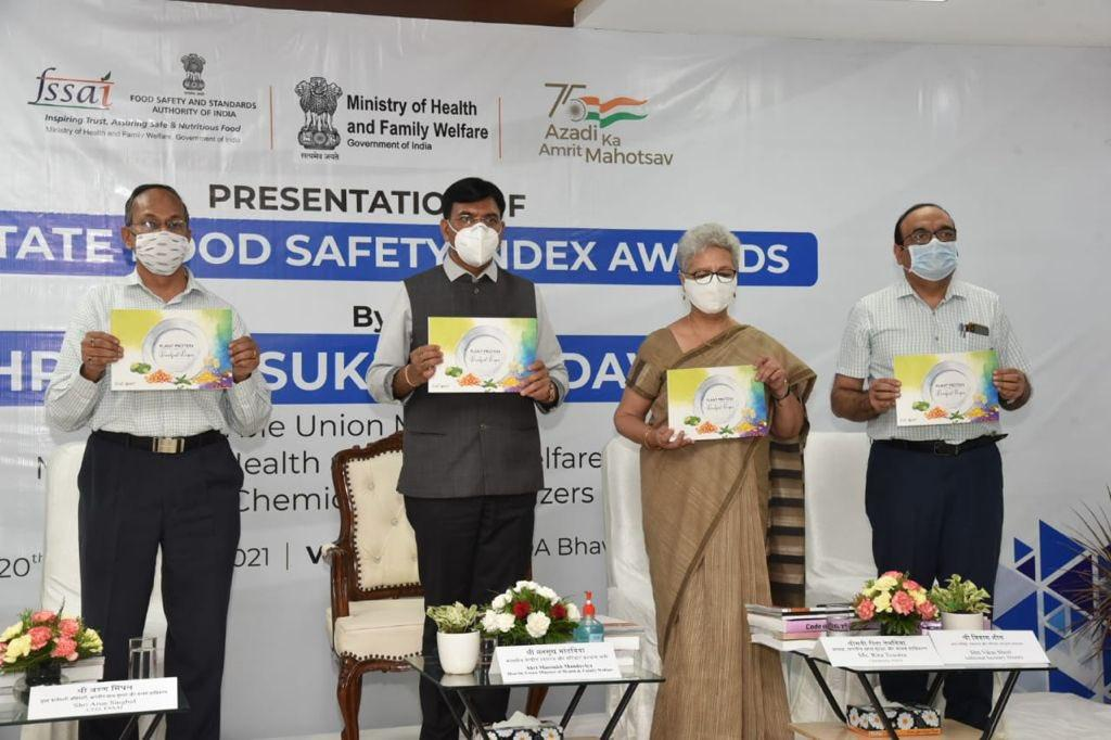 FSSAI's 3rd State Food Safety Index 2021 released_40.1