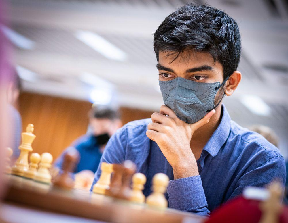 GM D. Gukesh of India wins Norway Chess Open 2021_40.1
