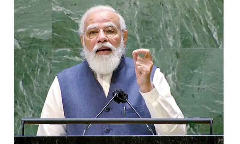 PM Modi addresses 76th UNGA in New York_40.1