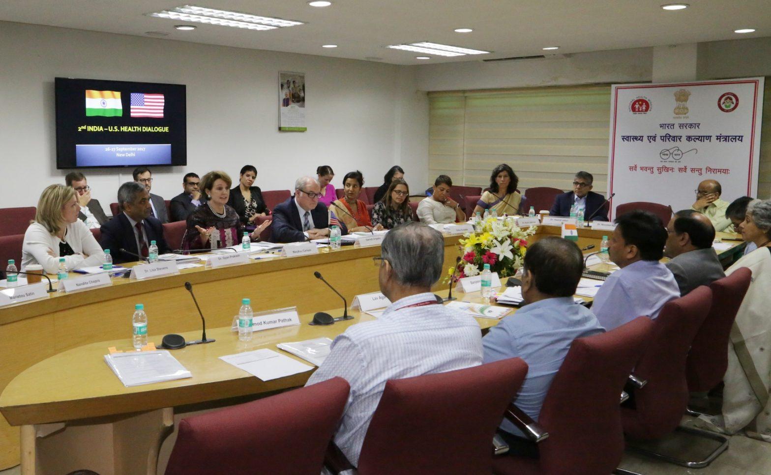 4th Indo-US Health Dialogue Held in New Delhi_40.1
