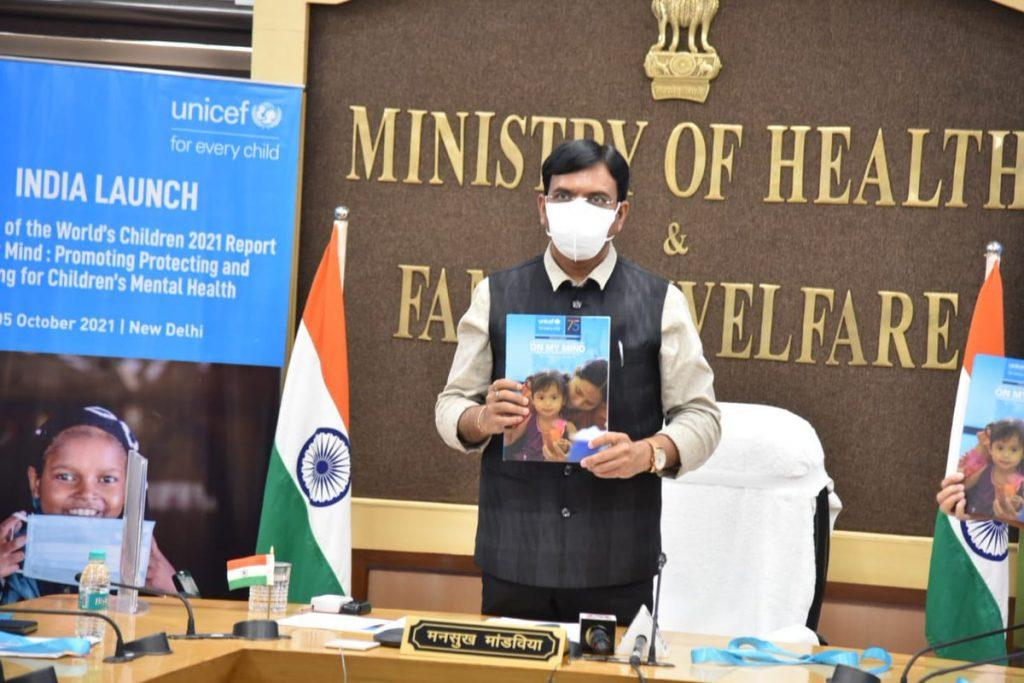 """Health Minister released """"The State of the World's Children 2021"""" report_40.1"""