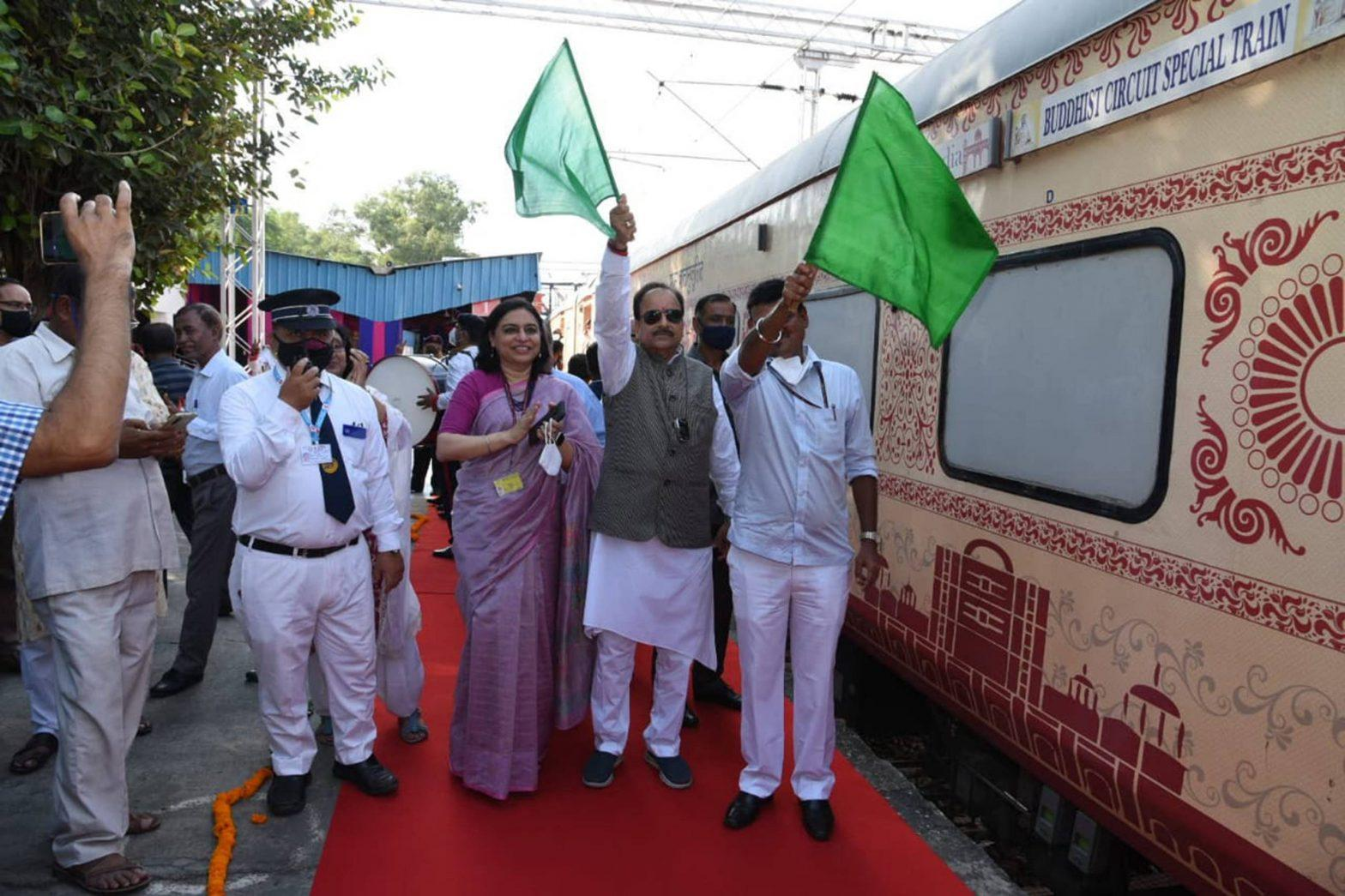 Centre organises 'Buddhist Circuit Train FAM Tour and Conference'_40.1