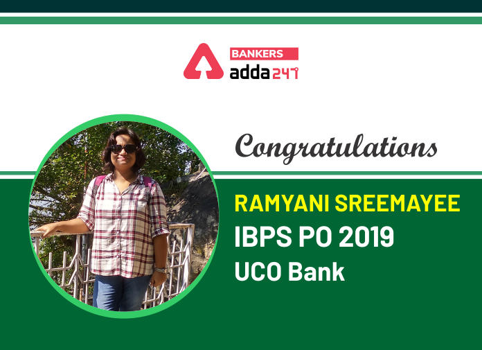 Success Story of Ramyani Sreemayee Selected as IBPS PO in ...